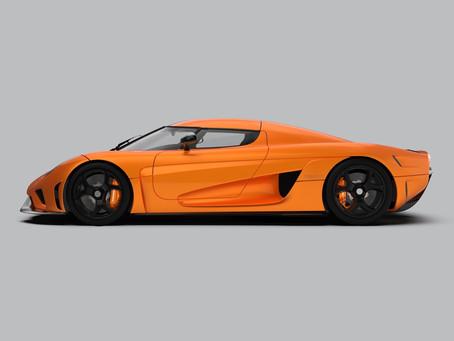 Next car will be the Koenigsegg Regera in orange....