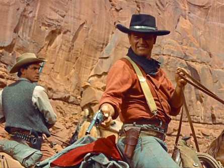 40. THE SEARCHERS, 1956