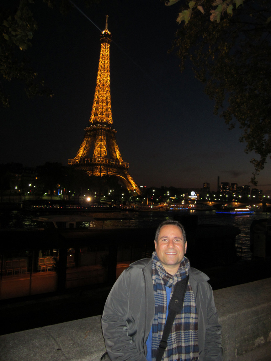 Paris at night, 2011