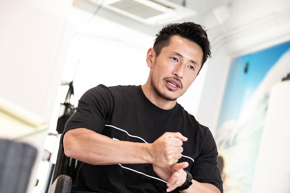 谷顕真氏 Lesmills Japan Trainer