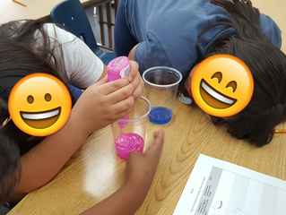 Glitter Slime Art and Elementary Science Lesson