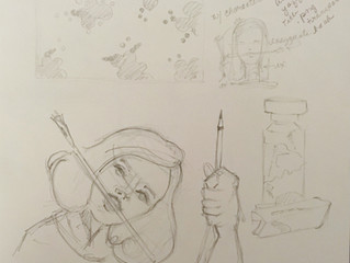 Draw with Jazza T-Shirt Challenge (Process Page)