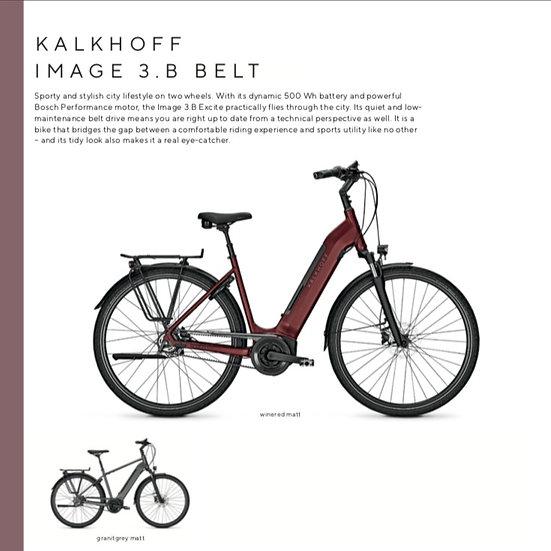 Kalkhoff Image 3.B Belt (2021)