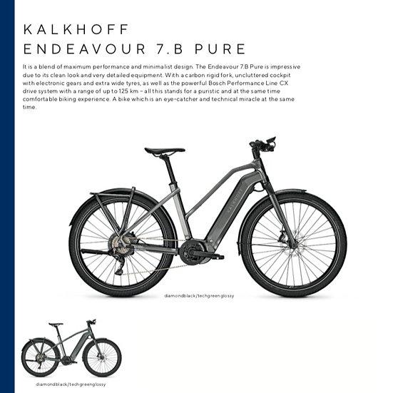 Kalkhoff Endeavour 7.B Pure (2021)
