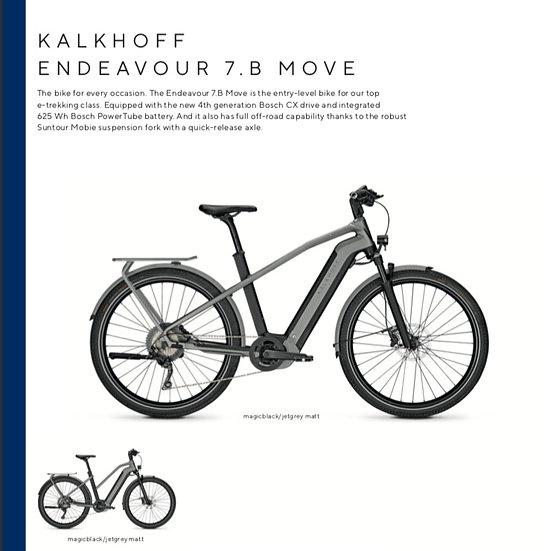 Kalkhoff Endeavour 7.B Move (2021)