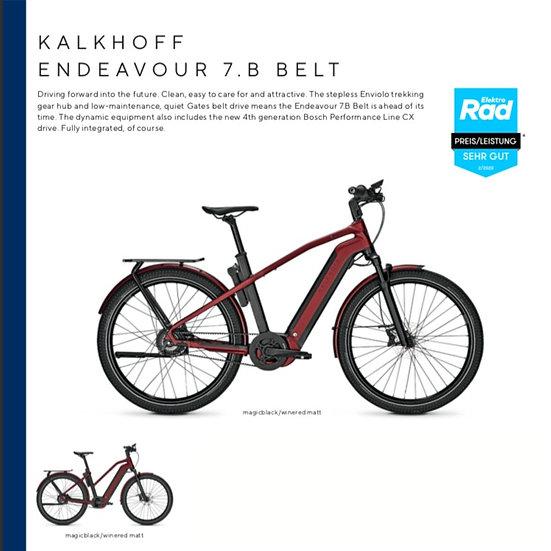 Kalkhoff Endeavour 7.B Belt (2021)
