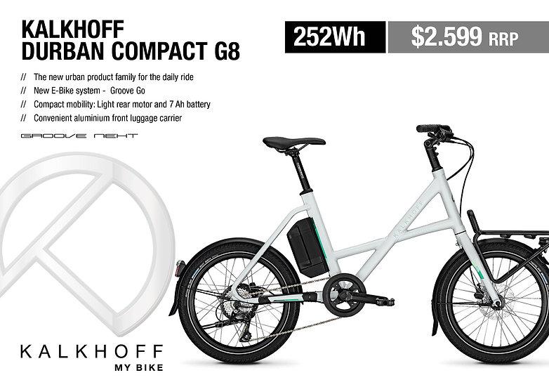 Kalkhoff Durban Compact G8 2020