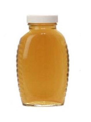 1 lb Glass Queenline Honey Jars (cs 24)