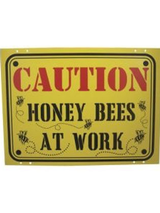 Sign - Caution Honey Bees at Work