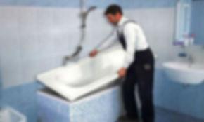 Установка/замена ванн/раковин/душевых кабин в Томске и Томской области от 800 рублей. Наша компания ООО « Салес » занимается установкой/заменой ванн/раковин/душевых кабин в квартирах Томска и Томской области уже более 10 лет.    При заказе установки/замены ванн/раковин/душевых кабин у нас, вы получаете скидку до 30% на сантехнические материалы. У нас работают только ,подтвердившие свою квалификационную степень, специалисты со значительным опытом.    Установка и замена ванн, раковин или душевых кабин не такое уж и легкое дело для людей взявшихся за это впервые. Оставьте эту работу специалистам!