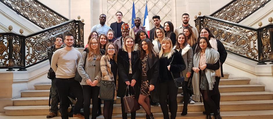 Visite au Conseil d'Etat