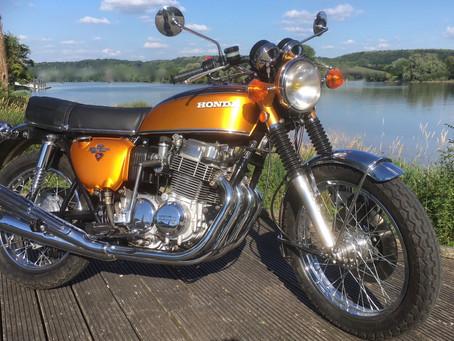 Restauration Honda CB 750 K1 1971