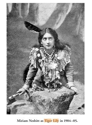 Miriam Nesbitt as Tiger Lily in 1904-05.jpg
