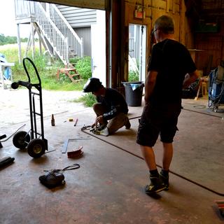 welding installation metal che