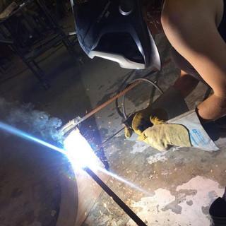 welding installation