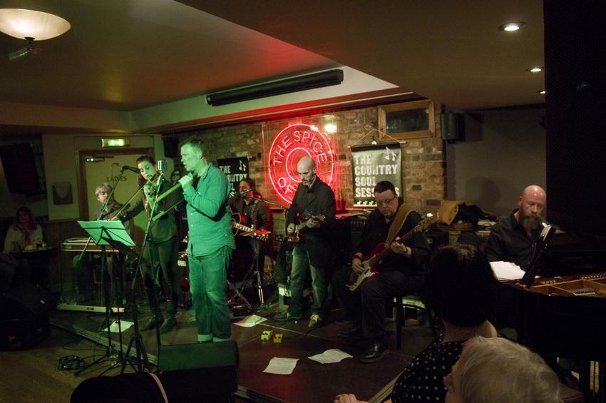 UK country band London honky tonk