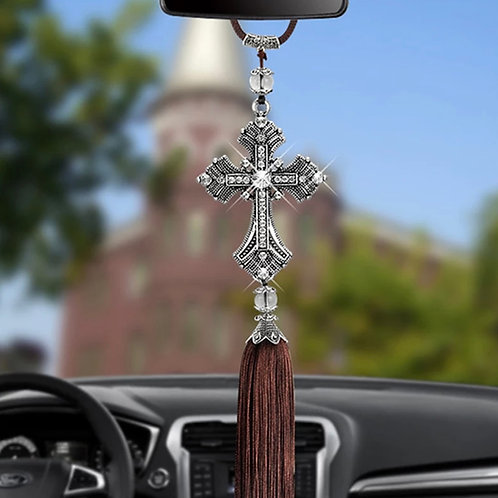 Krzyż Św. Krzysztofa- Patrona kierowców