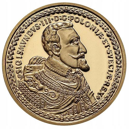 Najdroższe monety świata-100 dukatów Zygmunta III Wazy
