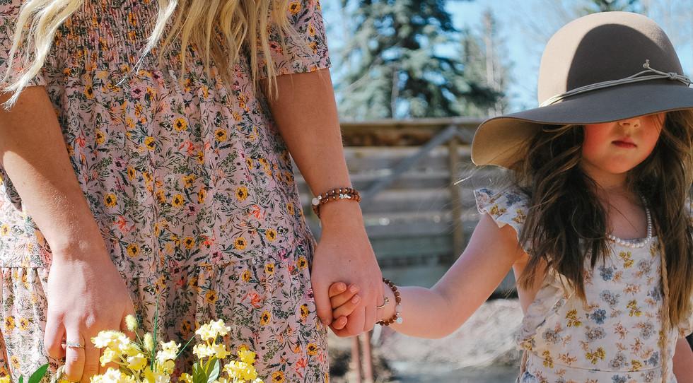 Mommy & Me Mala Bracelets