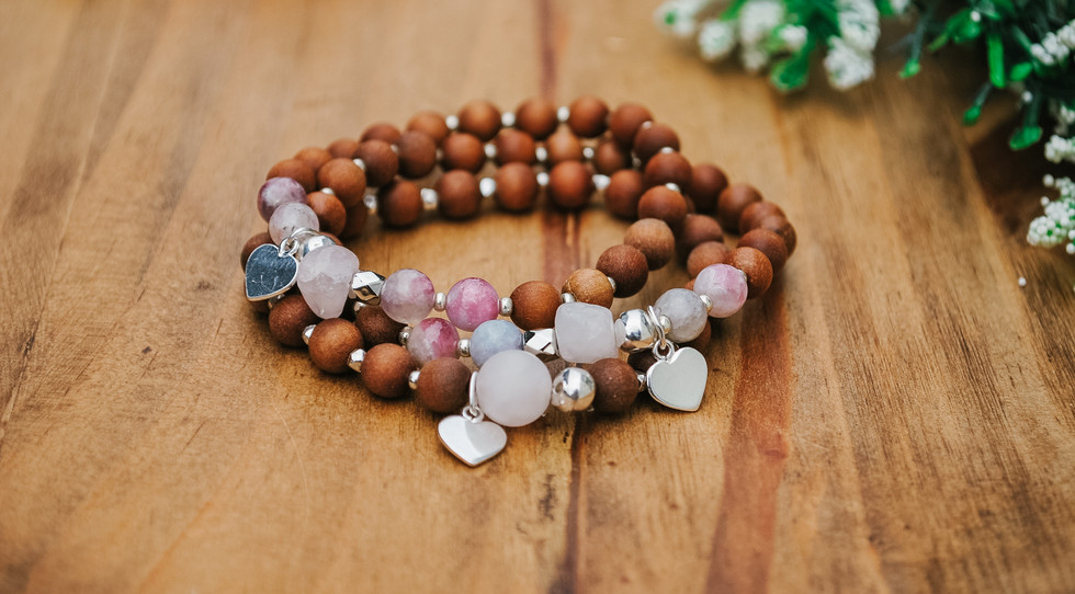 """I am Love"" mala collection by Mindful and Mighty Inc."