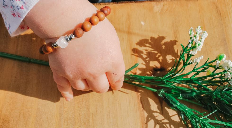 Child mala bracelet
