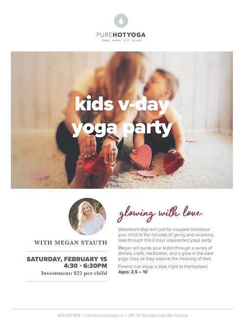"""""""Glowing with Love"""" Yoga Workshop"""