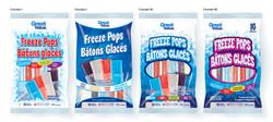 Freeze Pops - 3D concepts