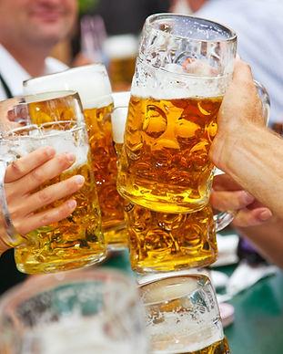 맥주 건배