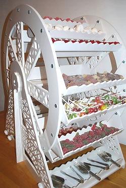 sweet cart hire weddings