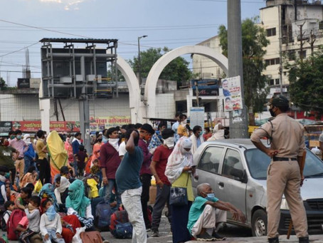 India Covid crisis: Vulnerable frontline workers hit hard by virus