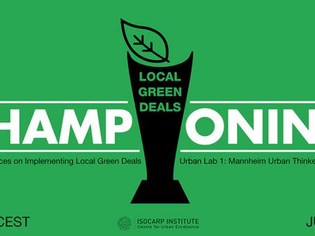 "Urban Lab 1 ""Championing Local Green Deals"""