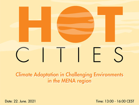 """Urban Thinkers Campus """"Climate Adaptation in Challenging Environments in the MENA Region"""""""