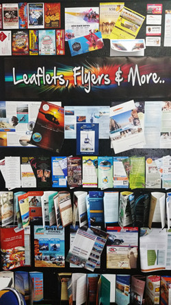 Leaflets, Flyers and More.