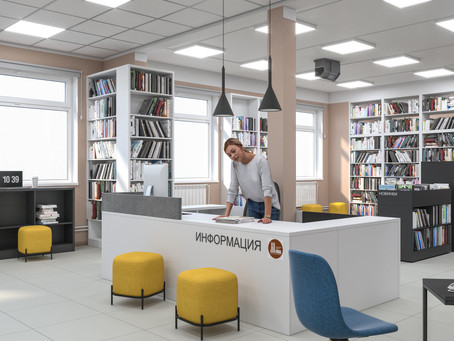 """Библиотека нового поколения – в Магане: реализация Национального проекта """"Культура"""""""