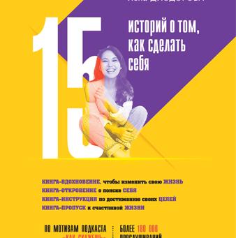 Презентация книги Лены Диодоровой  «15 историй о том, как сделать себя»