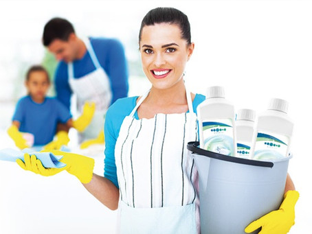 Spring cleaning quick and easy with Essens Home clean!
