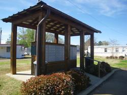 GA mail kiosk from left