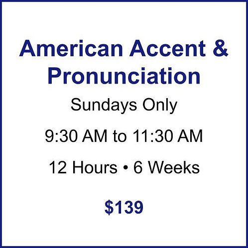 American Accent & Pronunciation
