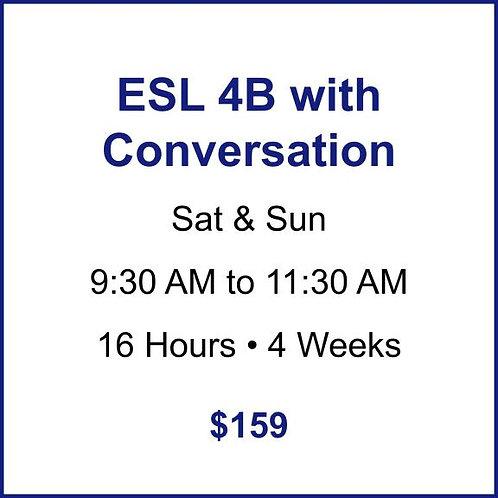 ESL 4B with Conversation