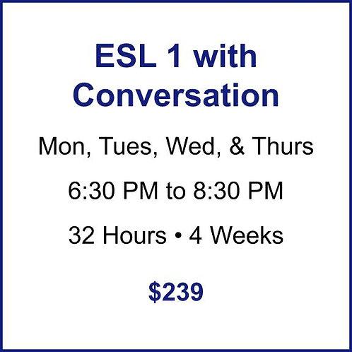 ESL 1 with Conversation