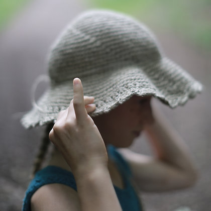 Crochet Hemp Hat for kids. Hipster style. (CROCHET PATTERN)