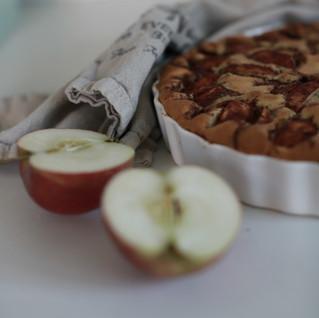 Apple cake. Prinser & Prinsesser Recipe.