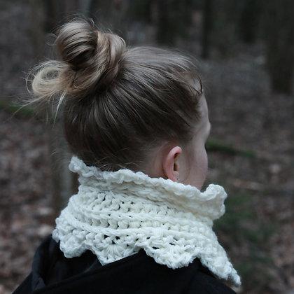 Collar Scarf - Crochet Pattern - Prinser & Prinsesser