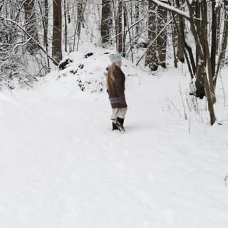 Large Crochet Dream Catcher for kids. Hipster style. (CROCHET PATTERN) Little Princess of the Winter Woods