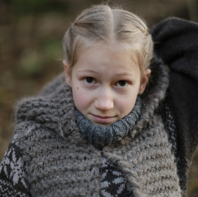 Knitted Hooded Vest for kids. Hipster style. (KNITTING PATTERN) Sustainable kids fashion. Slow fashion. Handmade with love by you.