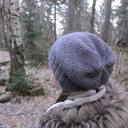 Knitted Hipster Hat for little adventurers (PATTERN in English)