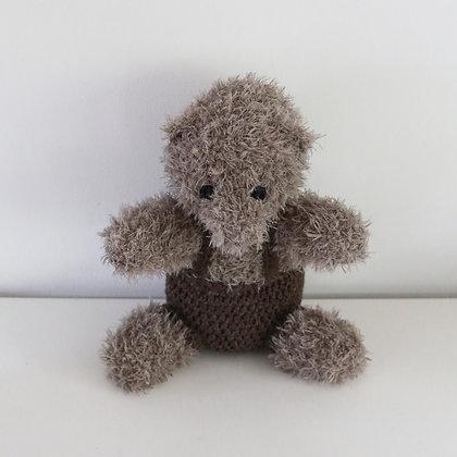 Crochet Teddy Bear with Trousers. Crochet pattern.