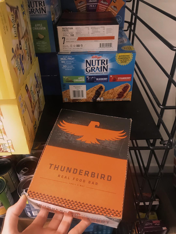Thunderbird Bars