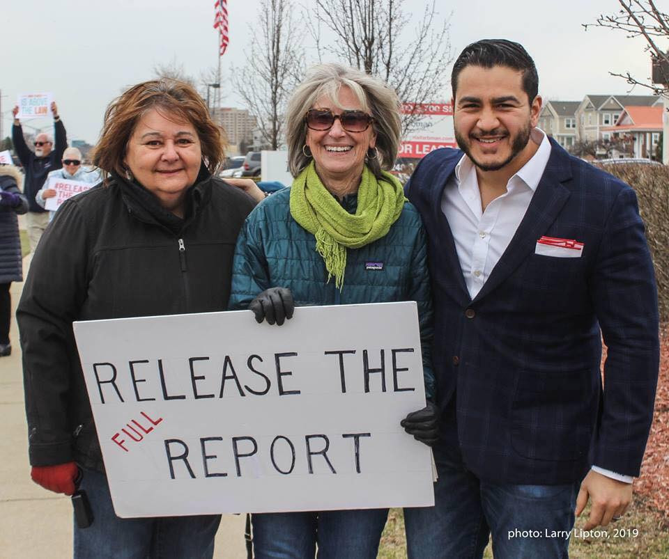 Indivisible Huron Valley 3 at Release th