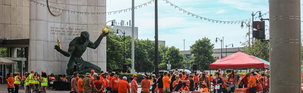 Indivisible Huron Valley at Wear Orange